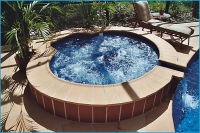 Fiberglass Pool Spill Over Spas